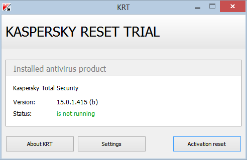 Kaspersky Total Security 2015 Full Crack Trial Reset | Mix all